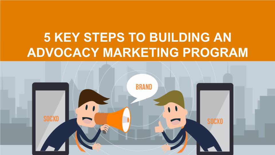 steps to building advocacy marketing program