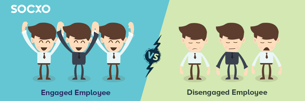 Find out the Difference Between Disengaged and Engaged Employees
