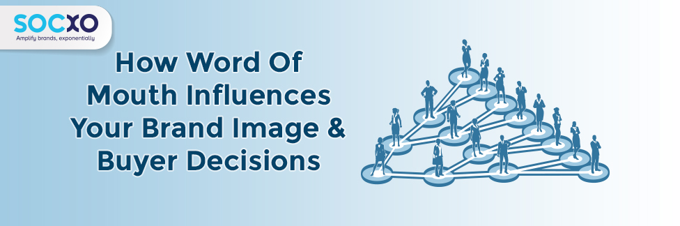 word of mouth influences brand image