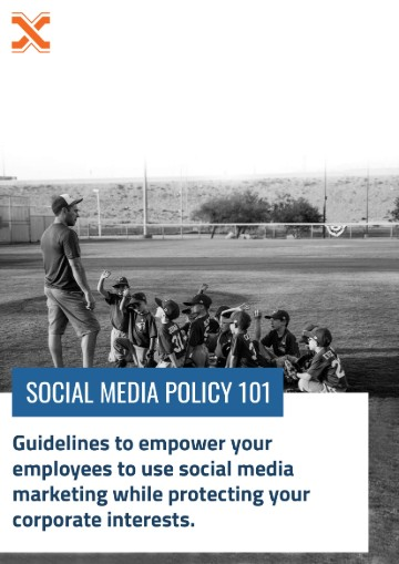 SOCIAL MEDIA POLICY 101